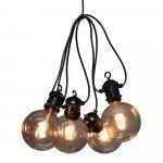 Dimbare snoerverlichting Partylight met 10 lampen product photo