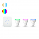 Hue - GU10 - 5,7W - White and Color set van 3 product photo