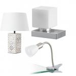 Witte tafellampen