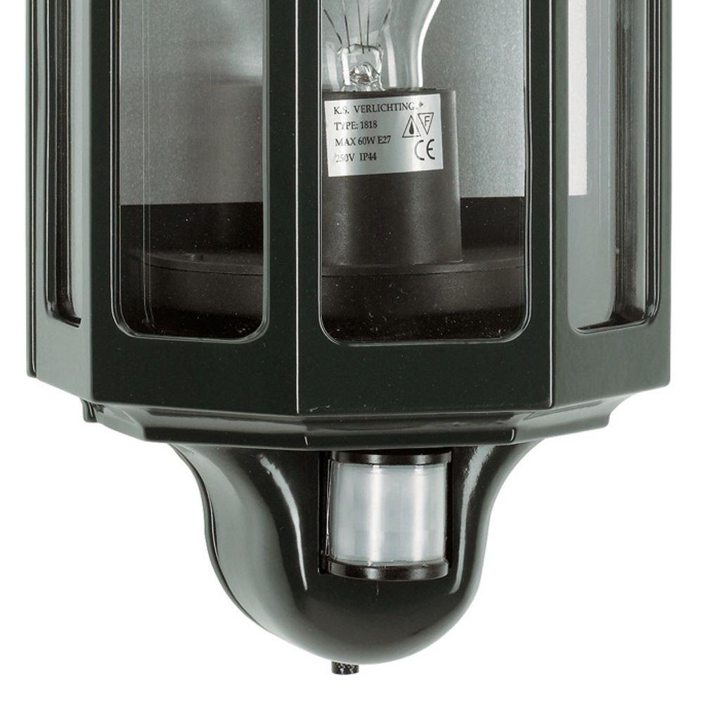 KS Verlichting Klassieke wandlamp Loreo met bewegingsmelder KS 5162