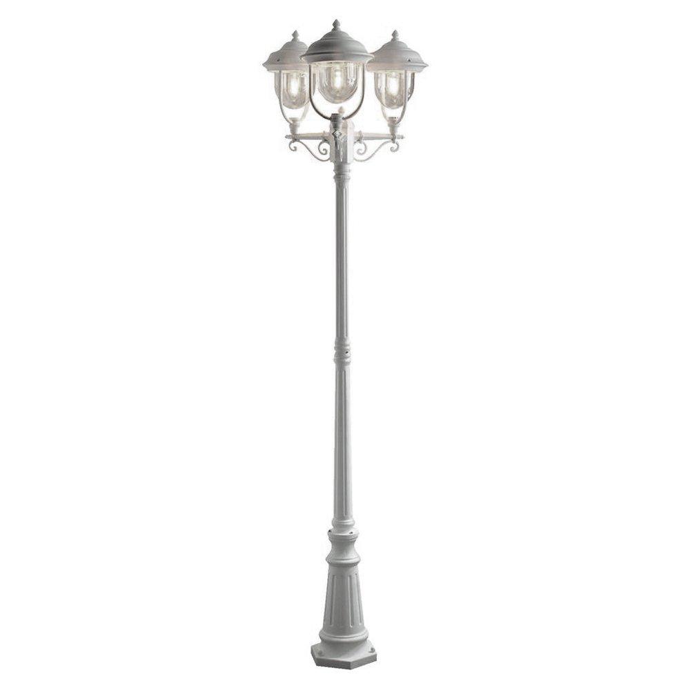 Romantische 3-lichts lantaarn PARMA, wit