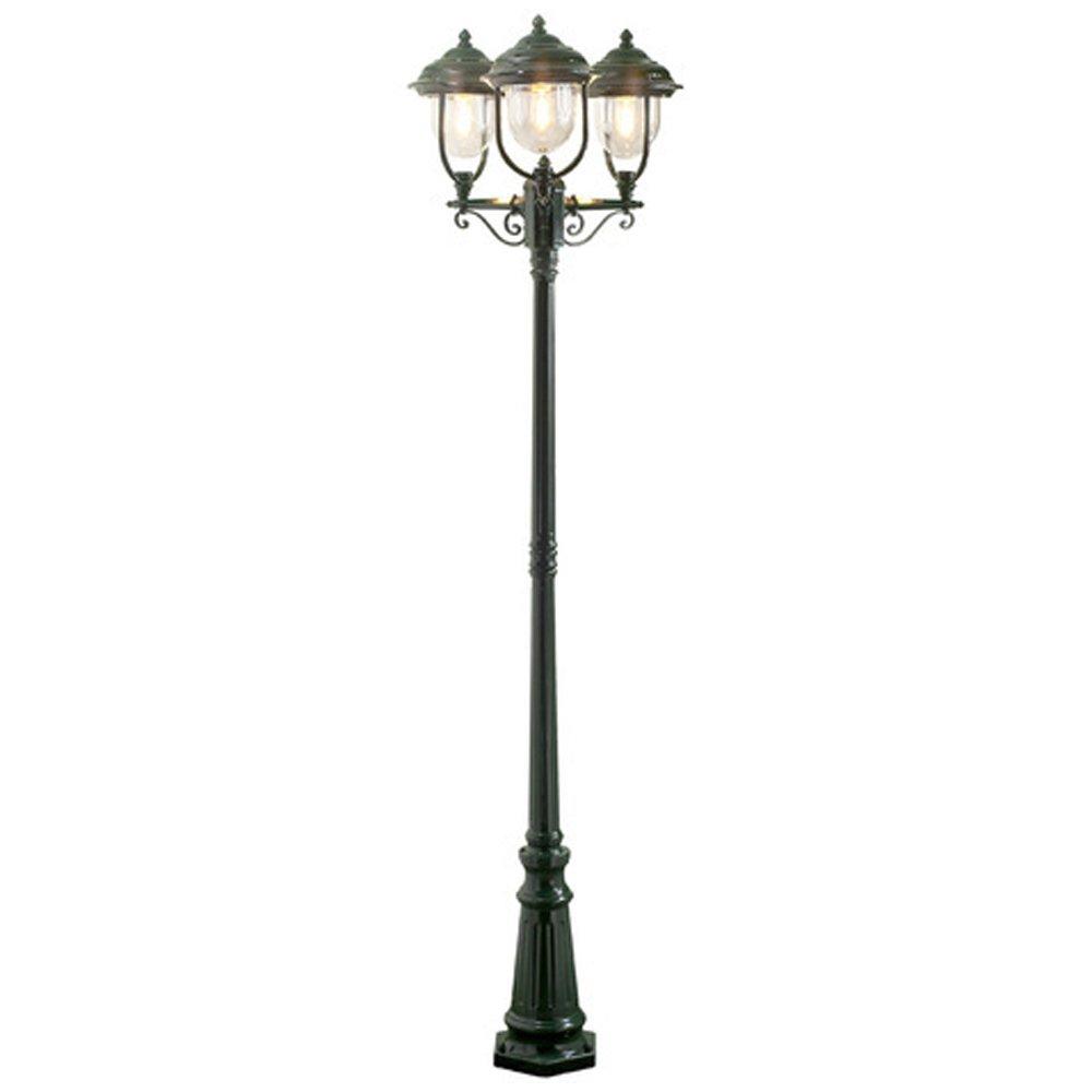 Romantische 3-lichts lantaarn PARMA, groen