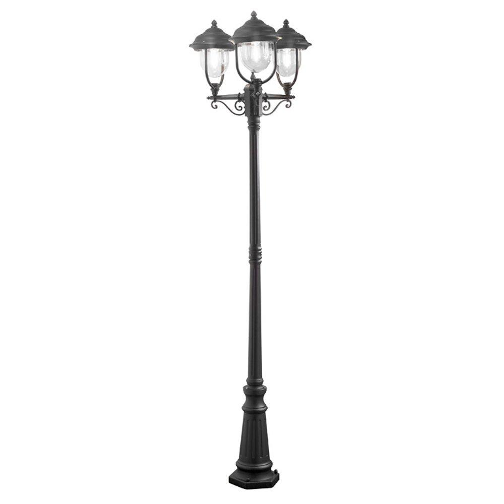 Konstsmide Parma Staande buitenlamp Spaarlamp E27 75 W 7227-750 Zwart