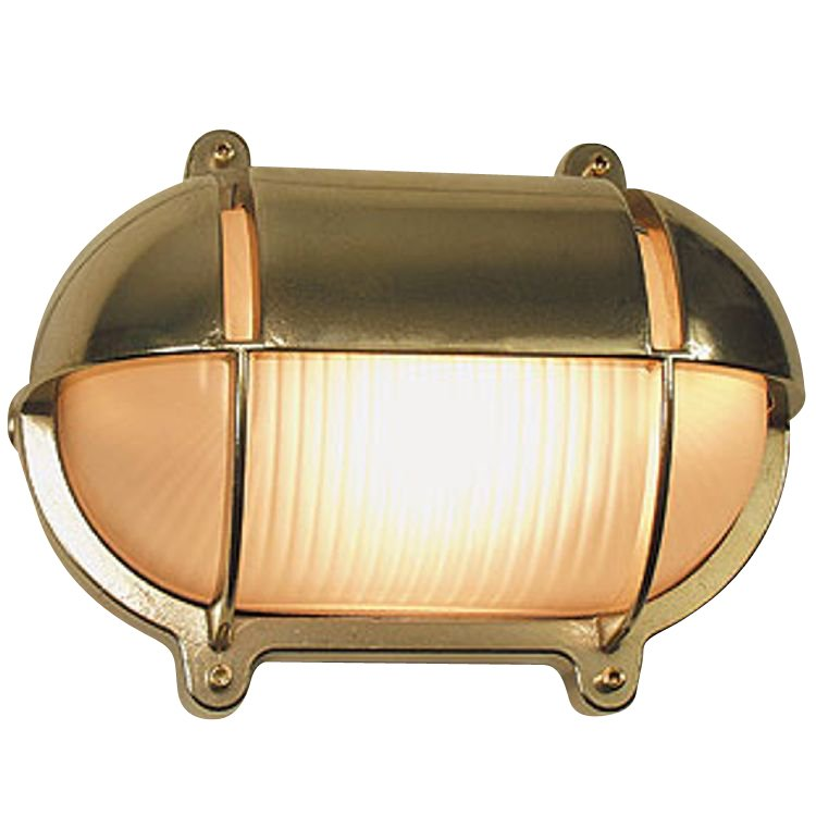 Outlight Scheepslamp voor buiten Maritime messing 27,4cm. Maritime 2434.(..)