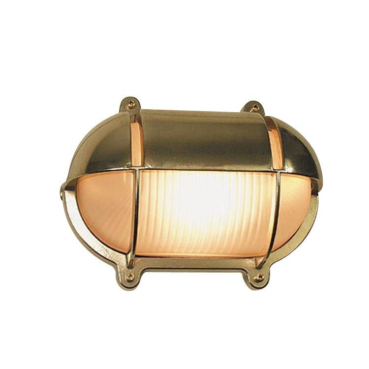 Outlight Scheepslamp voor buiten Maritime messing 18,2cm. Maritime 2436.(..)