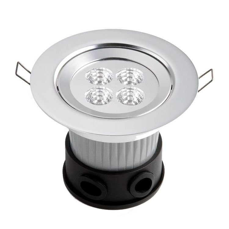 LED-SPOT plafondinbouwspot met power-led's