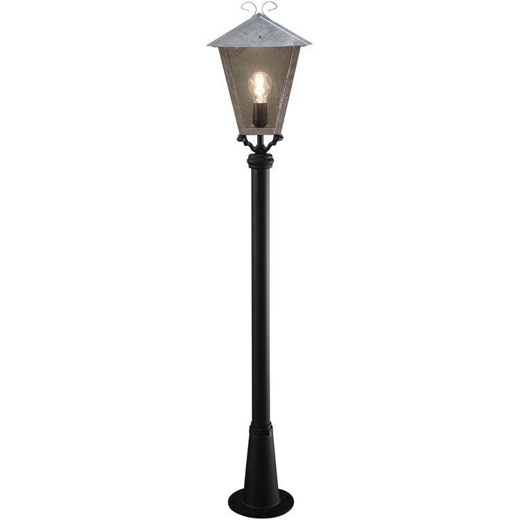 Konstsmide Benu Staande buitenlamp Spaarlamp, LED E27 100 W 436-320 Staal