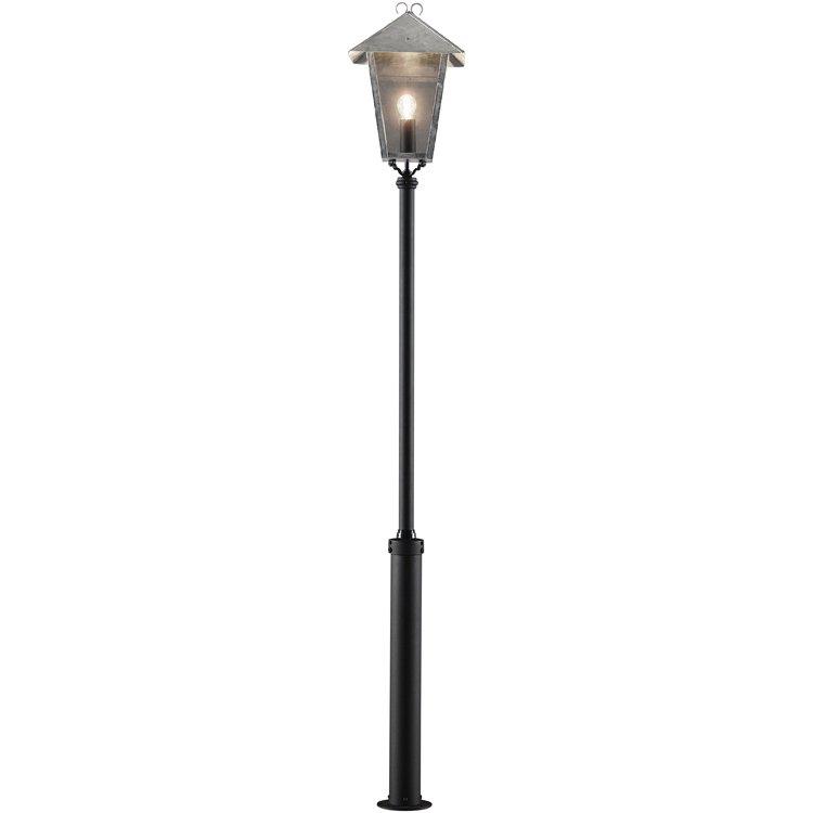 Konstsmide Benu Staande buitenlamp Spaarlamp, LED E27 100 W 437-320 Staal