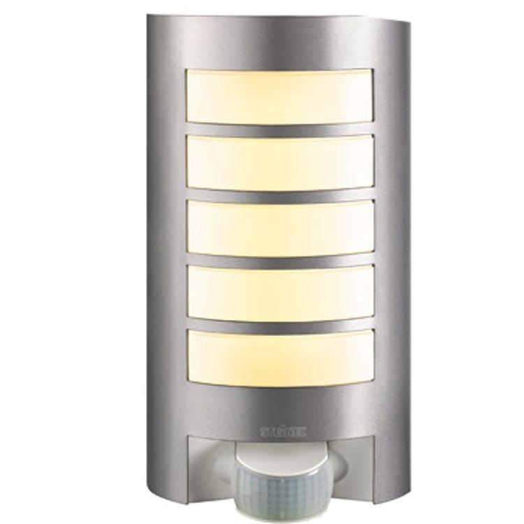 Steinel RVS wandlamp L12 met bewegingsmelder Steinel 657918