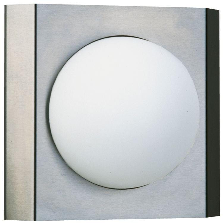 Albert Rvs wandlamp Quadrate Globe Albert-Leuchten 696112