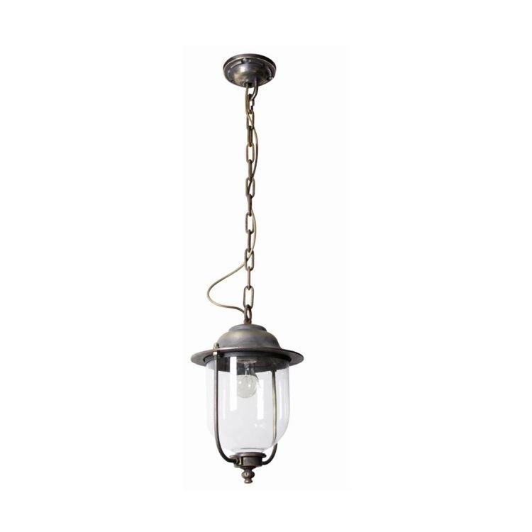 KS Verlichting Landelijke hanglamp Lindau L aan ketting KS 1422