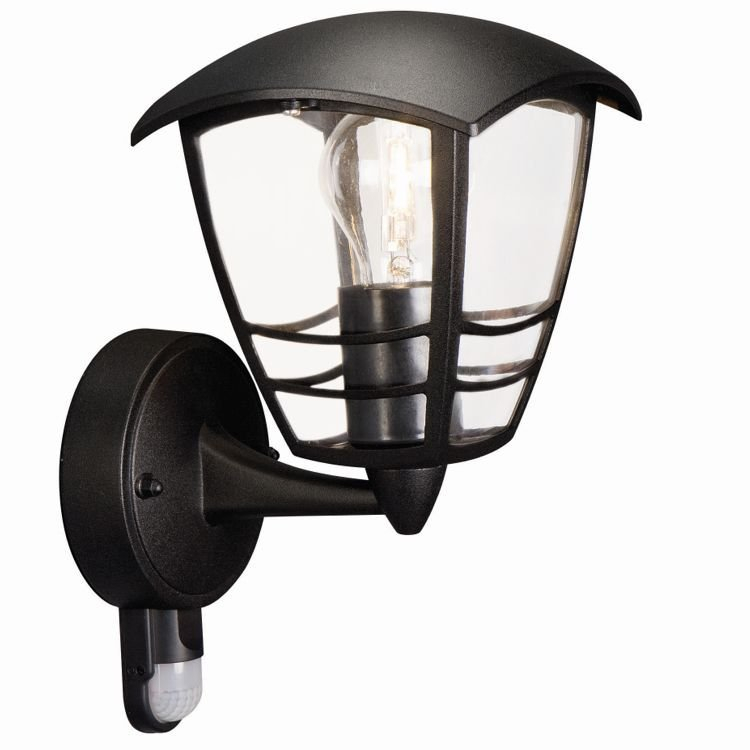 Philips mygarden creek wandlamp 230 v 60 w e27 zwart