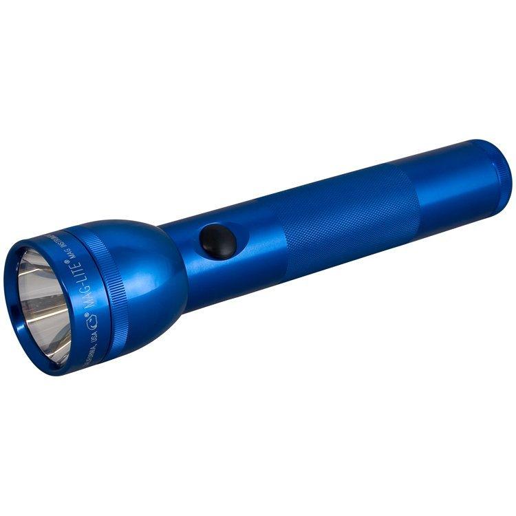 Maglite Zaklamp 2D-cell Blauw Mi. S2D115L