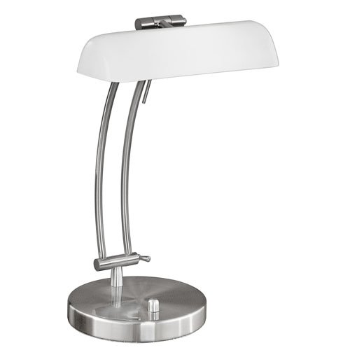 design bureaulamp bastia rvs van eglo kopen lampentotaal. Black Bedroom Furniture Sets. Home Design Ideas