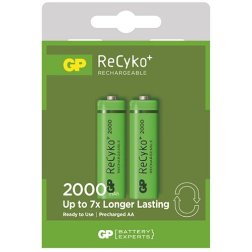 Chargeable Battery - 2000 mAh AA - 3311640 - € 11,89