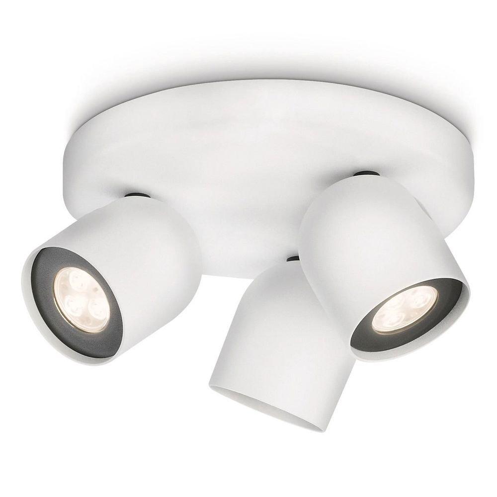 energie A+, Plafondlamp Ledino aluminium 3-lichtbronnen, Philips Ledino