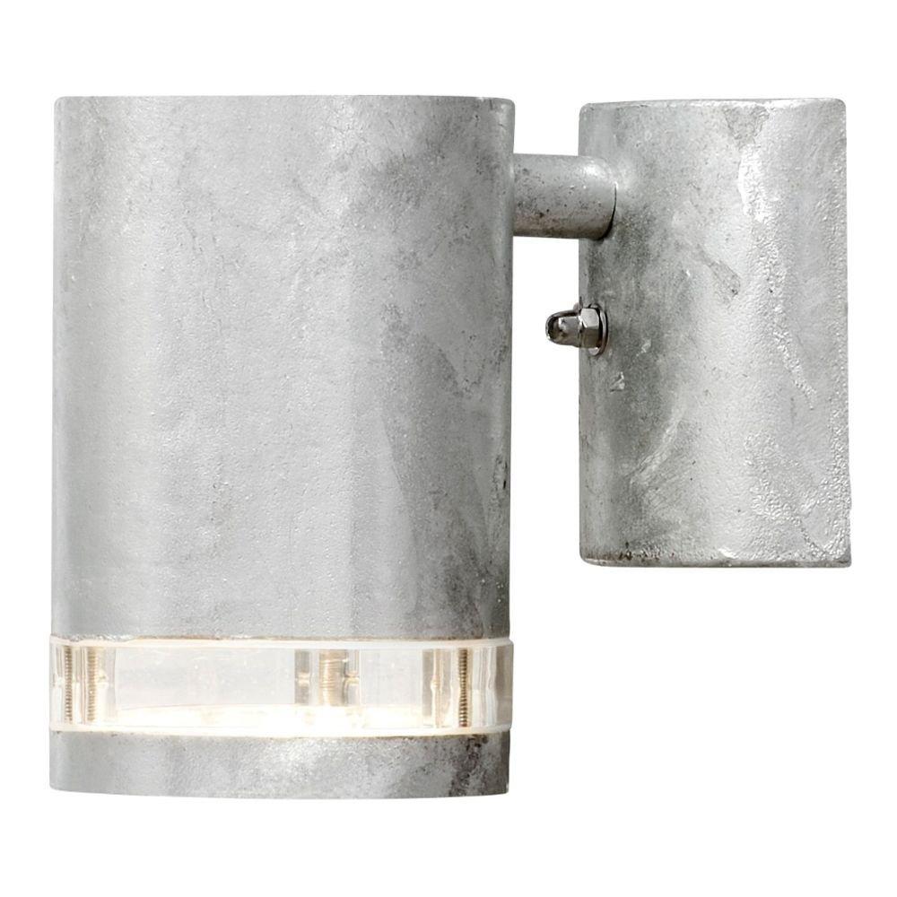Wandlamp modena beneden gegalvaniseerd met 1 lichtring 7511-320