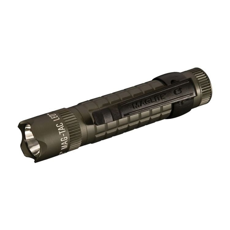 Maglite Zaklamp Mag Tac Crowned Bezel LED groen Mi. SG2LRB6