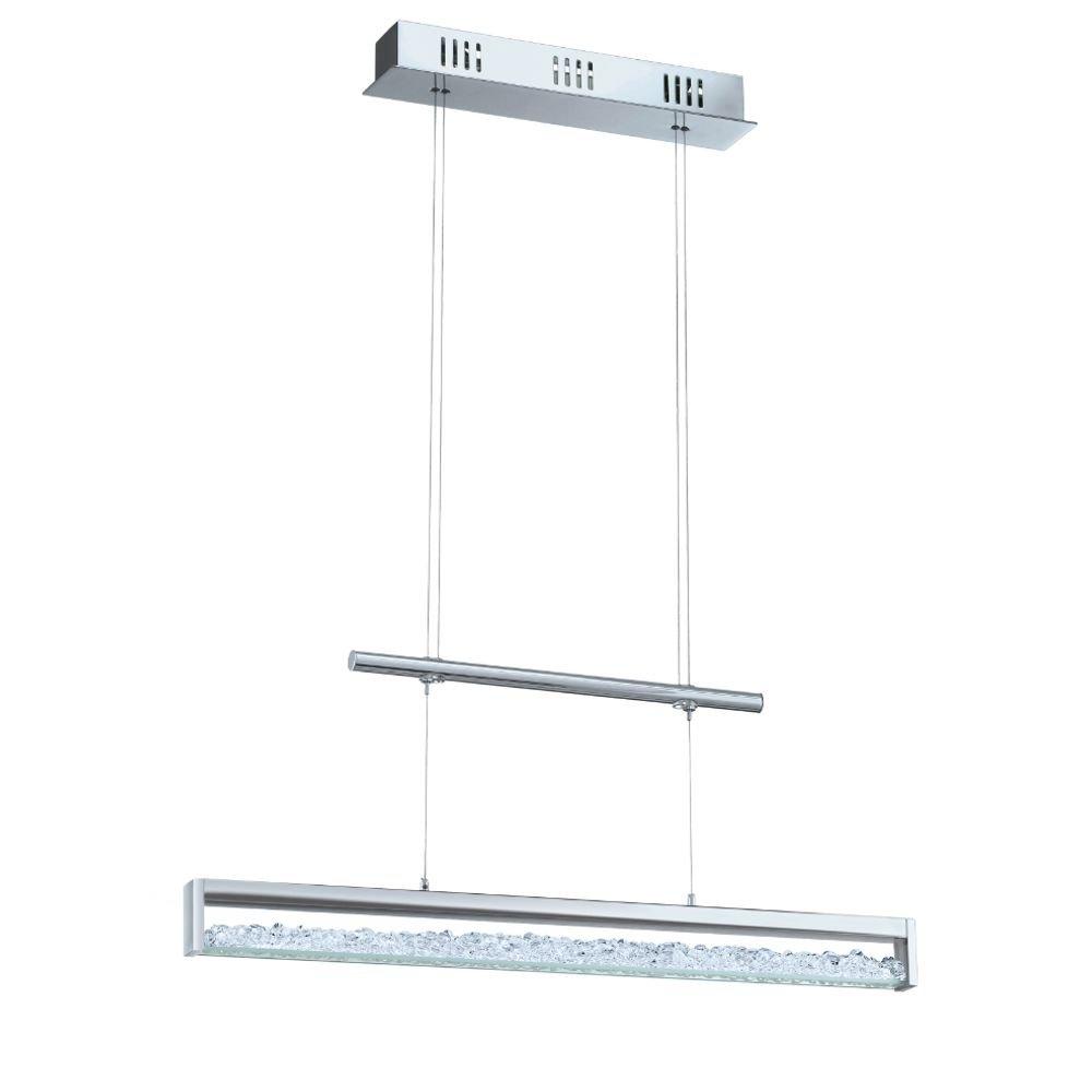 LED hanglamp Cardito met Asfour kristal 70 cm