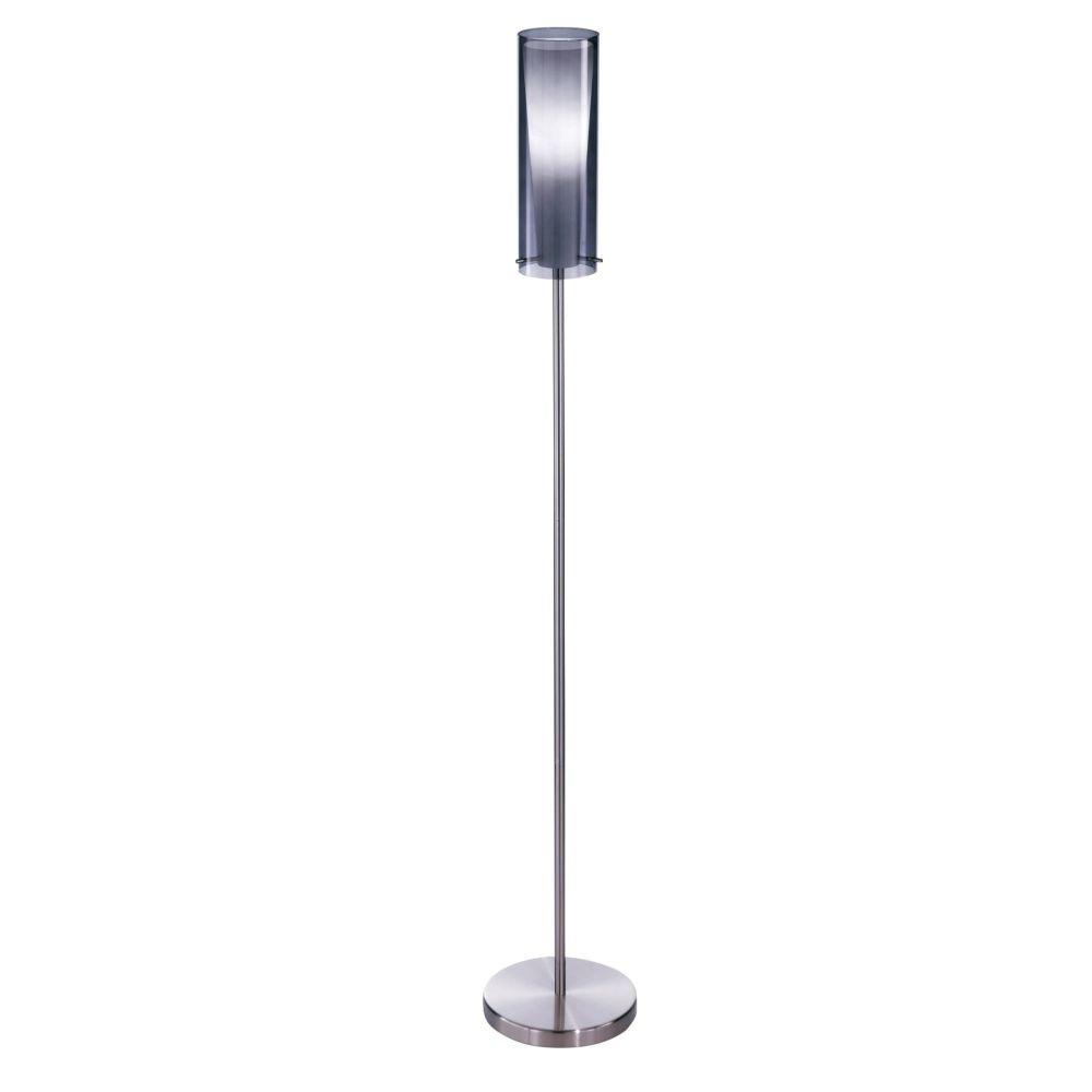 Eglo Moderne Staande Lamp Pinto Nero rvs Eglo 90309