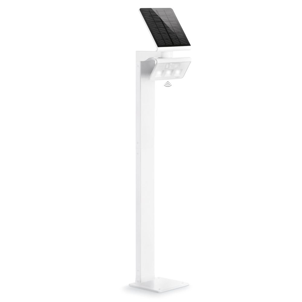 LED-solarlamp XSolar Stand, wit