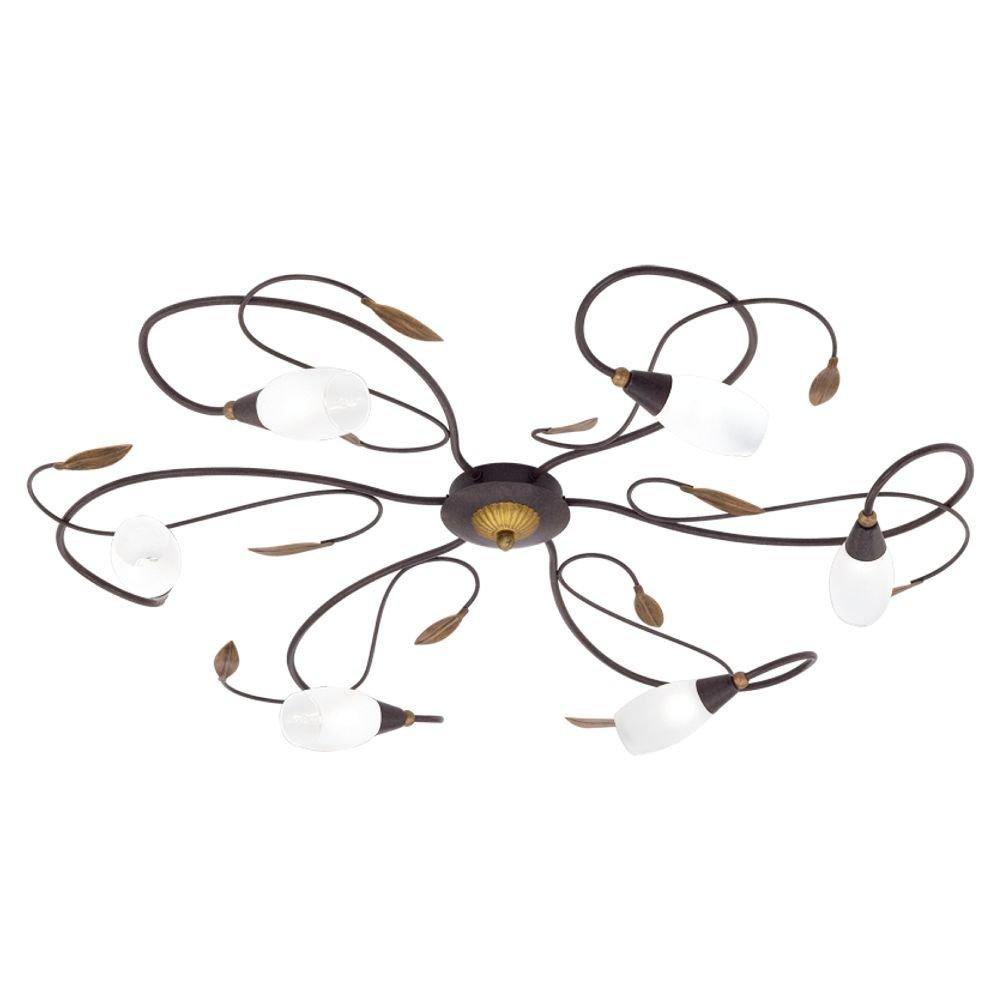 Eglo Antieke Plafondlamp Gerbera 1 Eglo 90697
