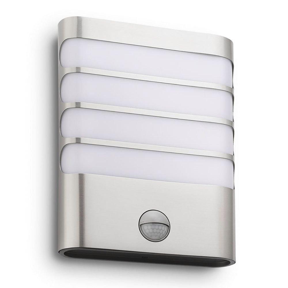 energie A+, LED-wandlamp myGarden Raccoon roestvrij staal 1 lichtbron, Philips