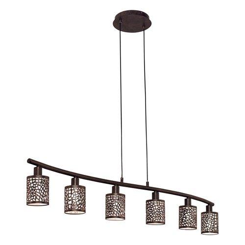 ALMERA indrukwekkende hanglamp 6 lichts