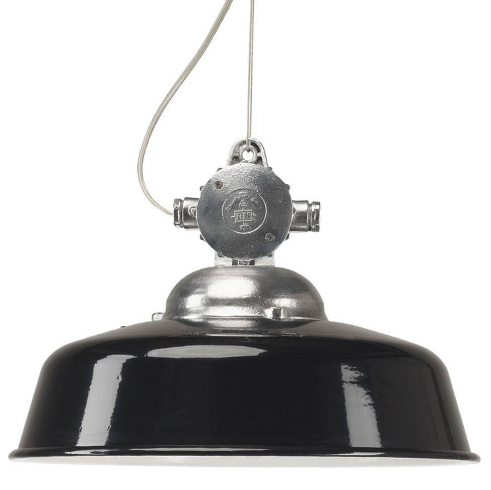 KS Verlichting Hanglamp industrie Detroit zwart KS 6589