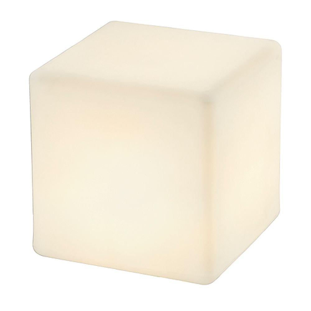 SLV Staande buitenlamp Dett 227211 Spaarlamp Wit E27