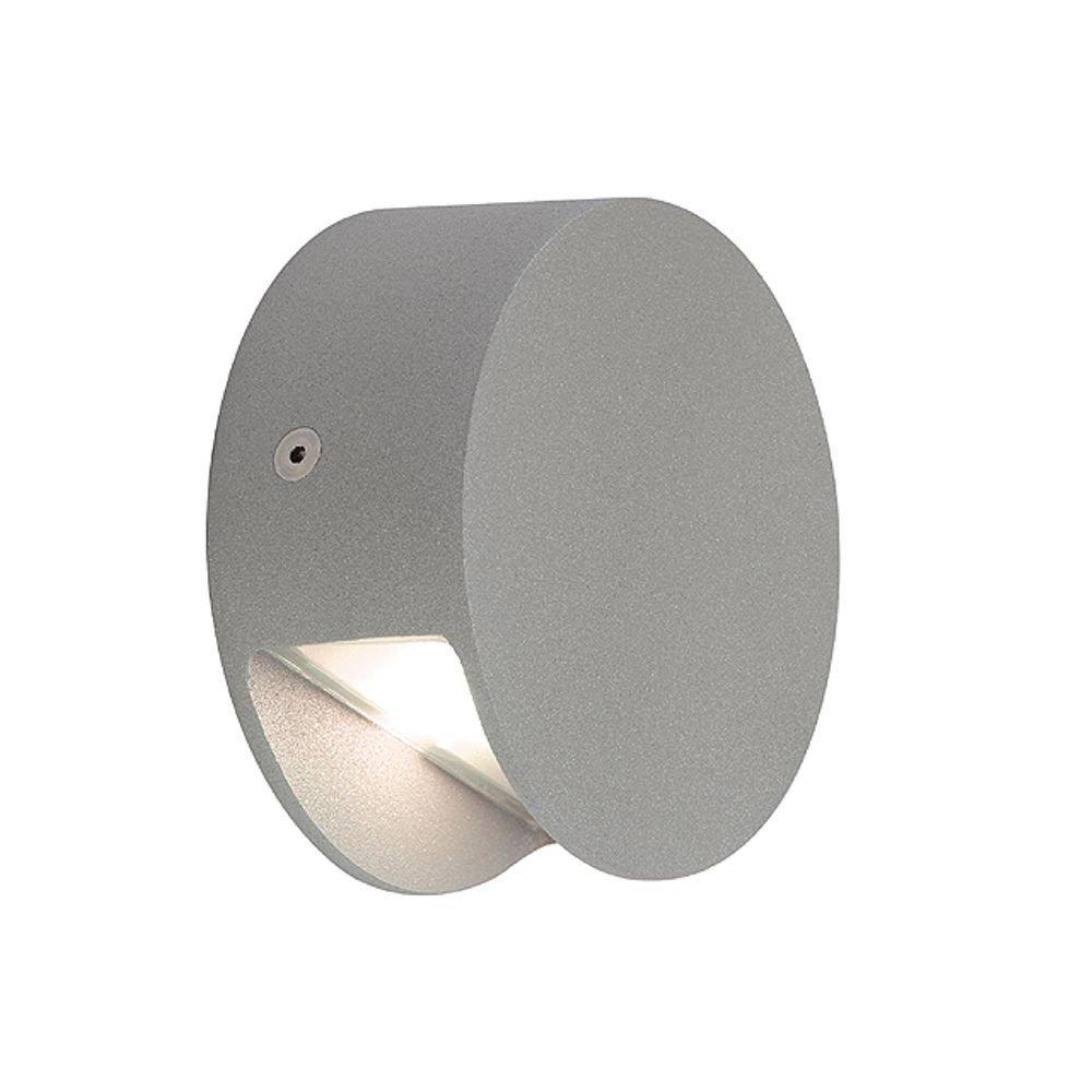 Ronde led-wandlamp PEMA LED, warm wit