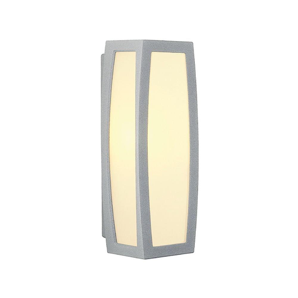 SLV Wandlamp Meridian Box met bewegingsmelder 230084 Spaarlamp