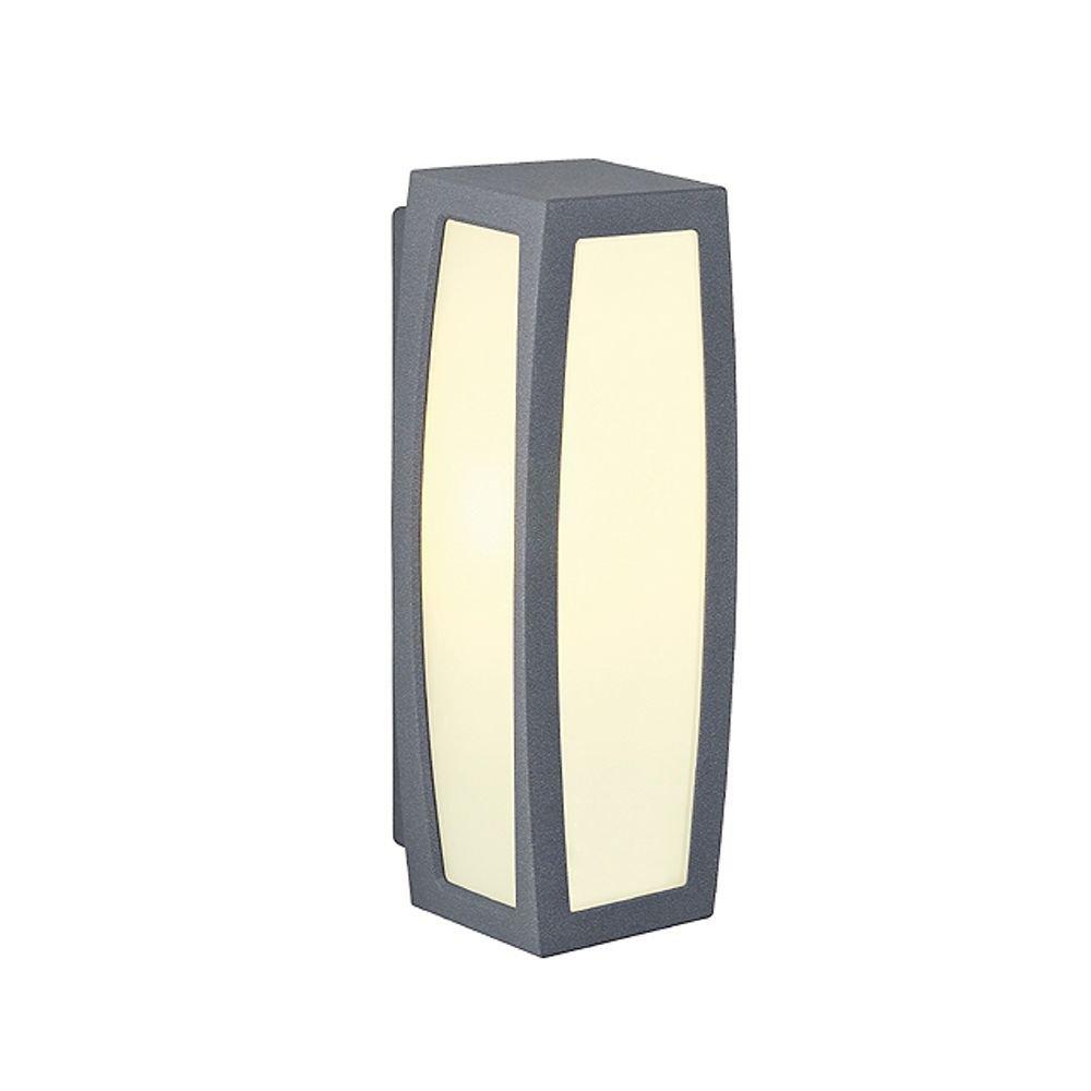 Buitenlamp Meridian Box met bewegingsdetector van SLV - verlichting ...