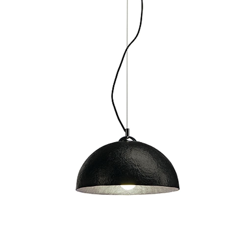 FORCHINI hanglamp klein, zwart, zilver