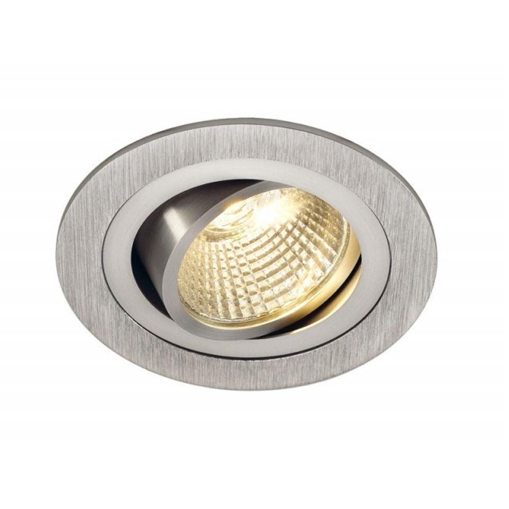 LED-inbouwlamp New Tria 113906 Aluminium (geborsteld)
