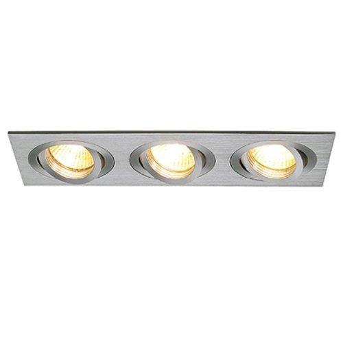 SLV - verlichting Inbouwspot New Tria GU10 3 Square SLV. 111363