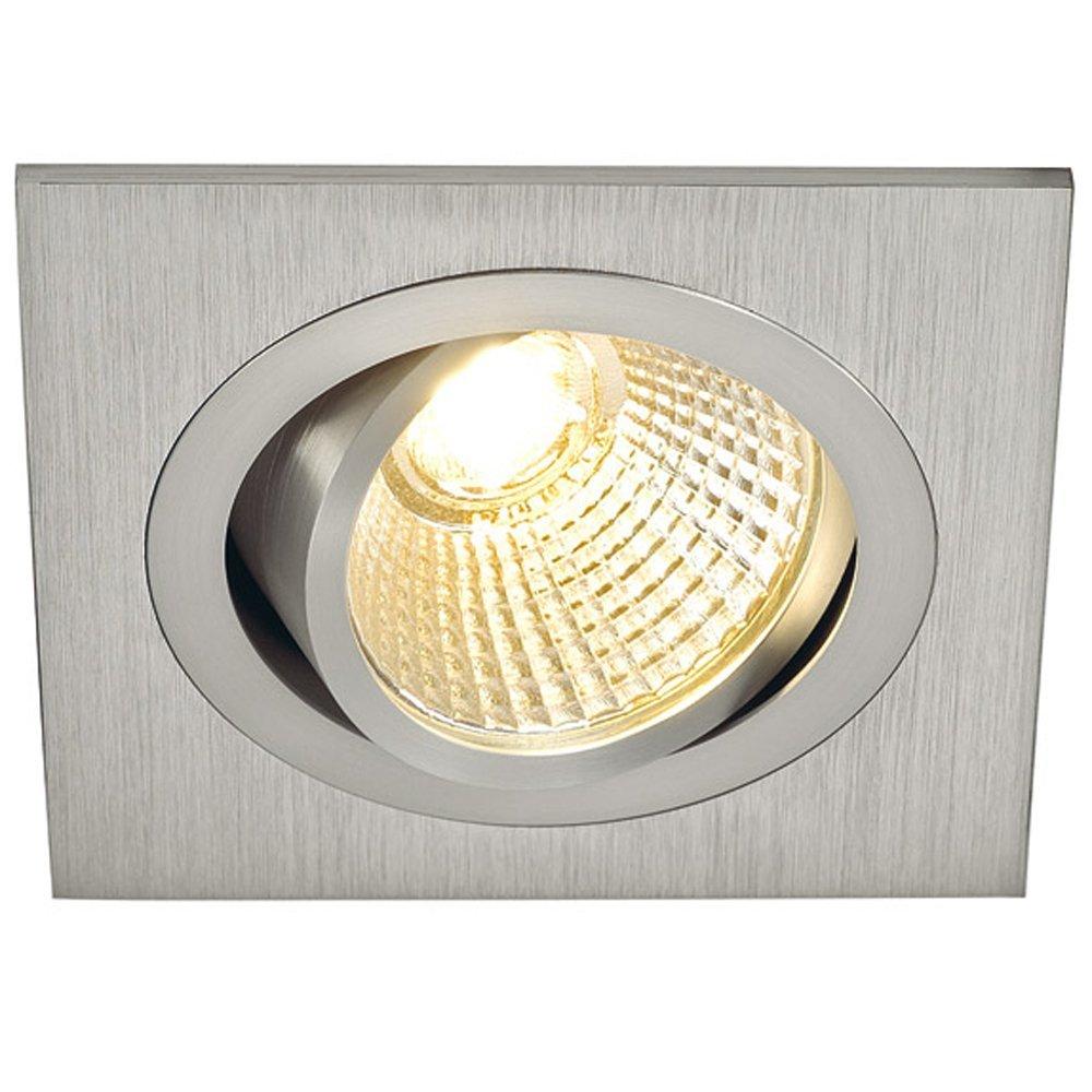 LED-inbouwlamp New Tria 113916 Aluminium (geborsteld)