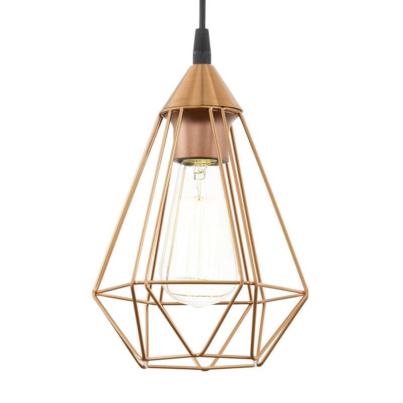Eglo Tarbes Hanglamp Koper 17,5 cm