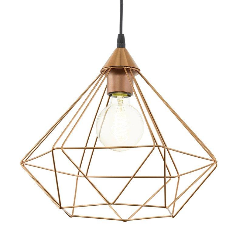 Eglo Tarbes Hanglamp Koper 32,5 cm