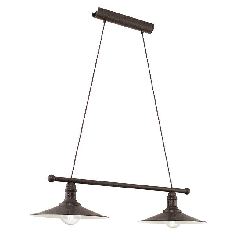 Eglo Landelijke hanglamp Stockbury Eglo 49457