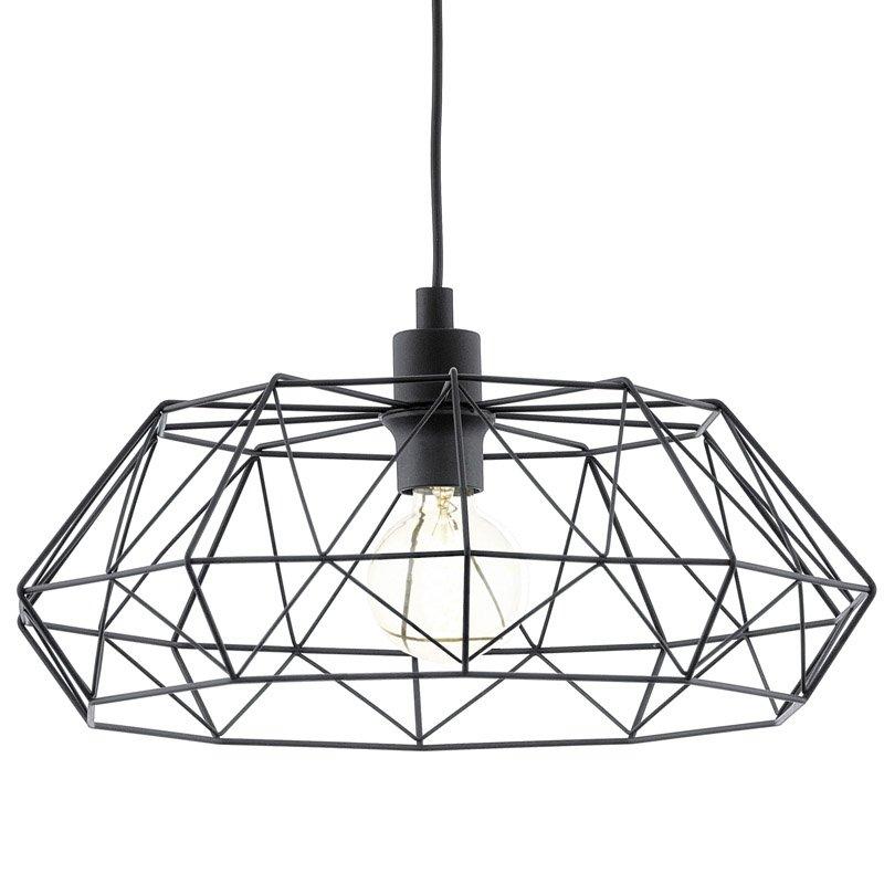EGLO hanglamp Carlton 2 zwart