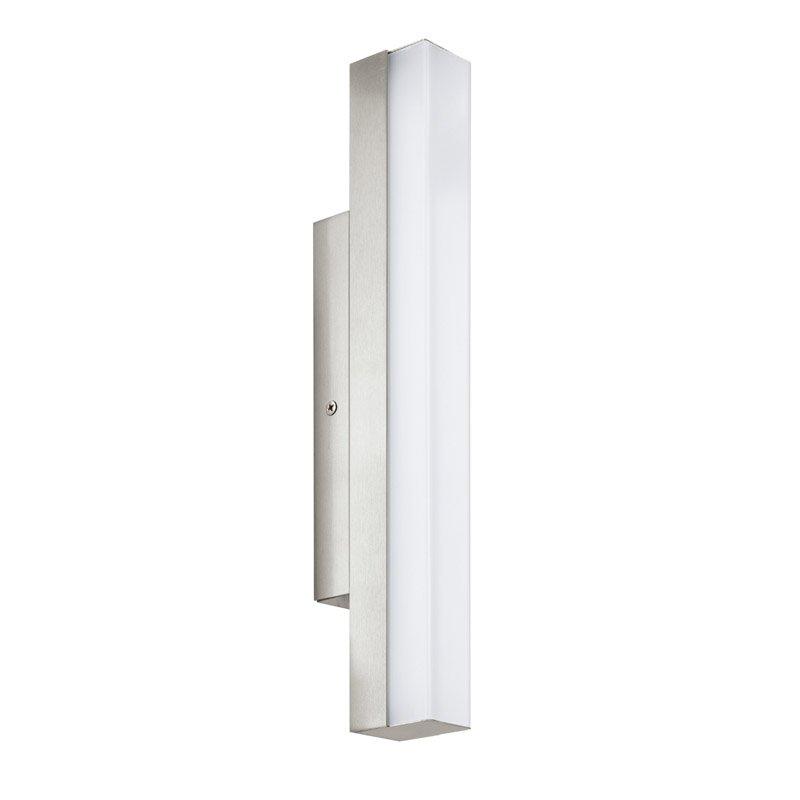 LED wandlampL 350 nikkel-mat TORRETTA