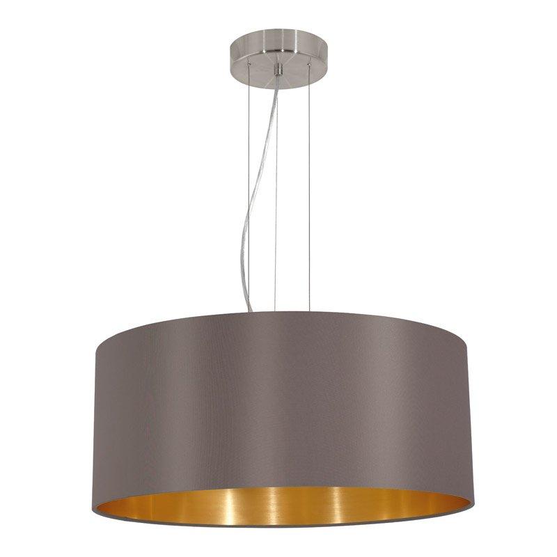 Eglo Landelijke hanglamp Maserlo Bruin/Goud Eglo 31608