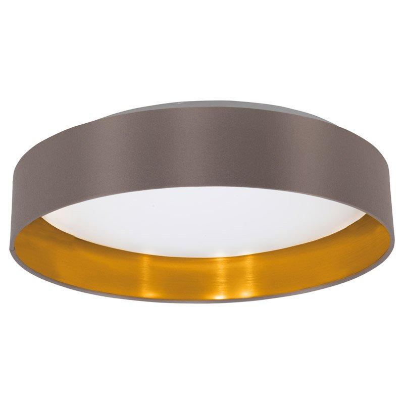 Eglo Landelijke plafondlamp Maserlo Bruin/Goud Eglo 31625