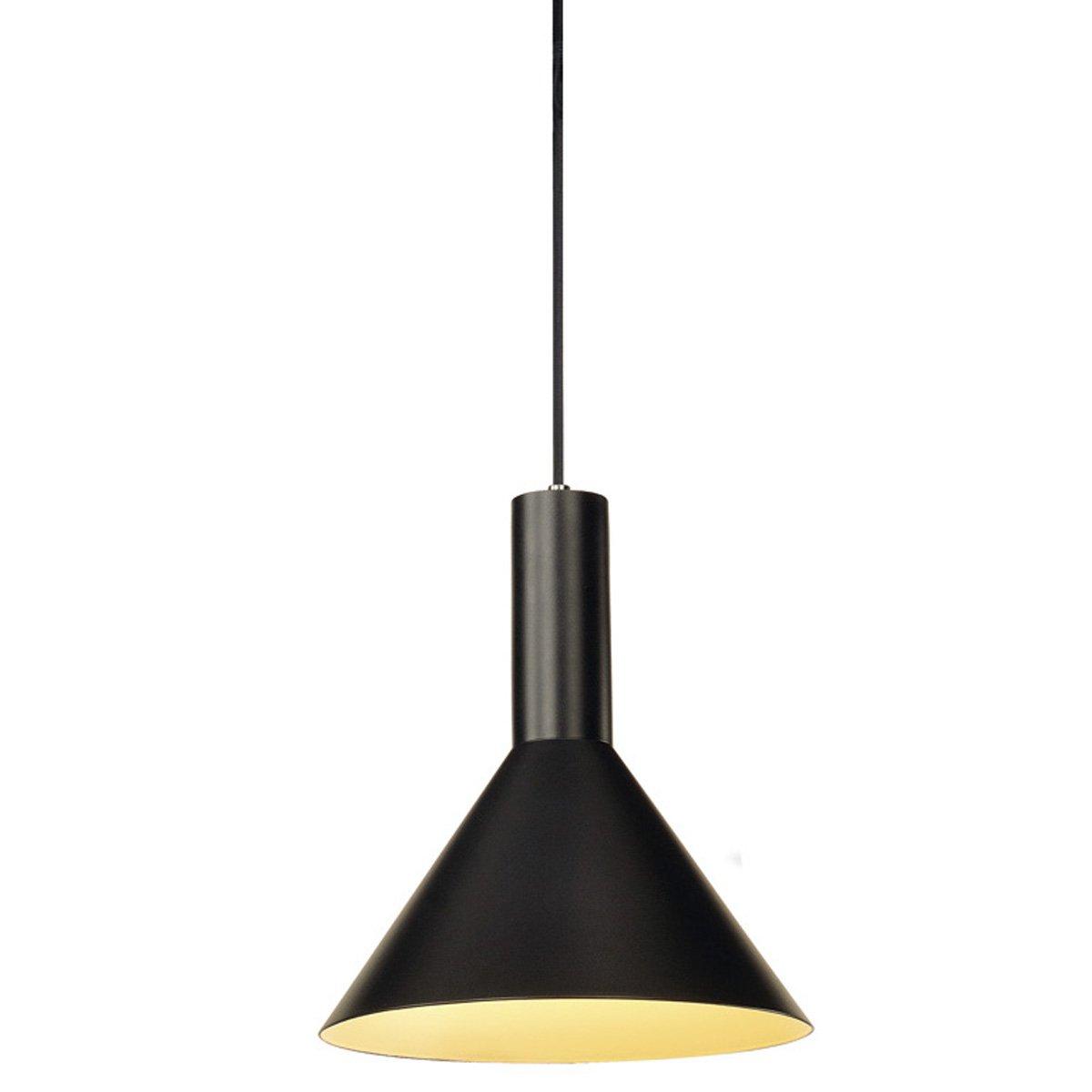 SLV - verlichting Zwarte hanglamp Phelia S SLV. 133300