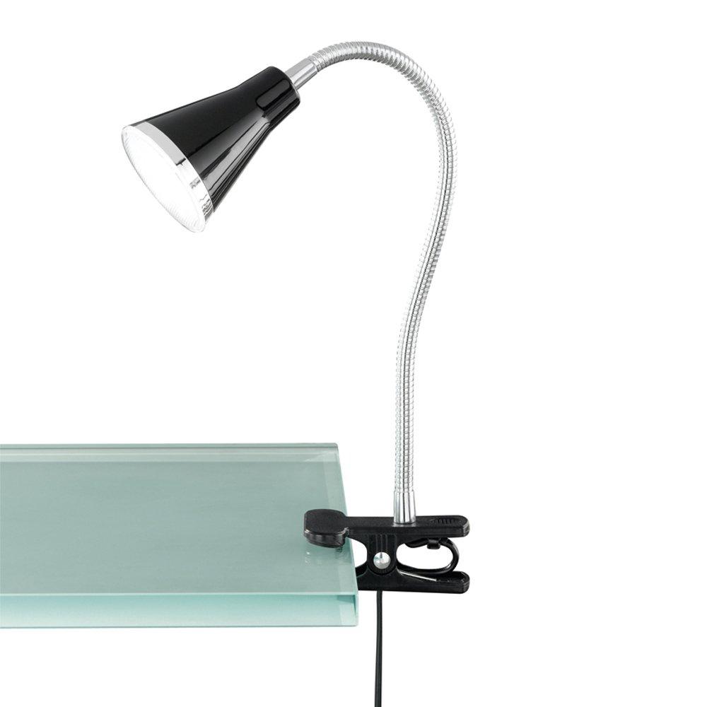 Klemlampje Funnel LED zwart