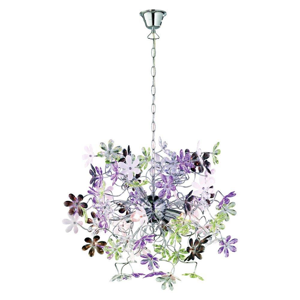 Trio international Moderne Hanglamp Flower Trio R10014017