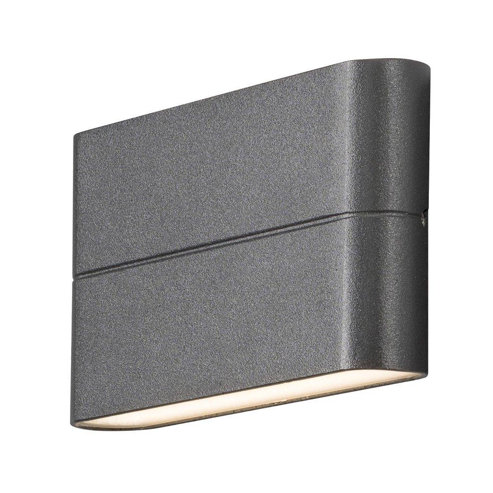 Wandlamp Konstsmide Chieri 7973-370 230V flush twinlight 17x9cm, 2x 6W