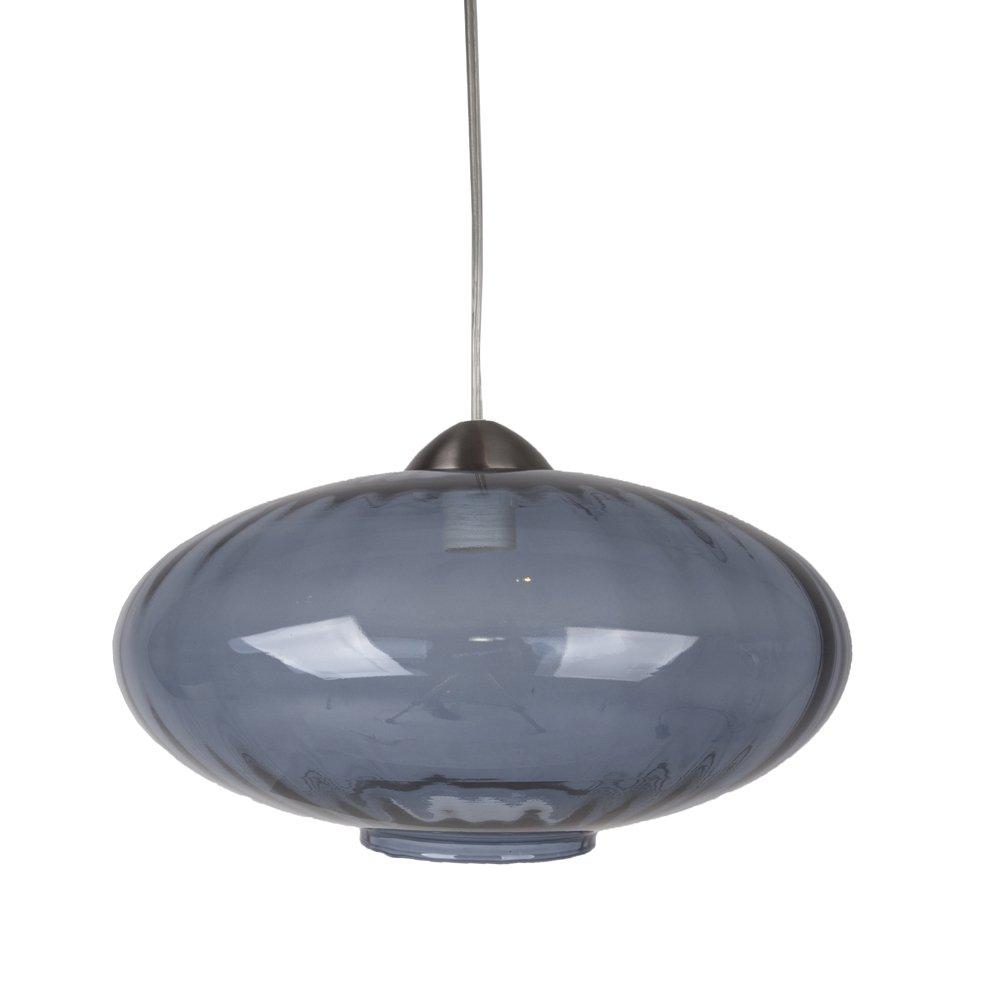 Van De Heg Glazen hanglamp Topas smoke Heg 171114