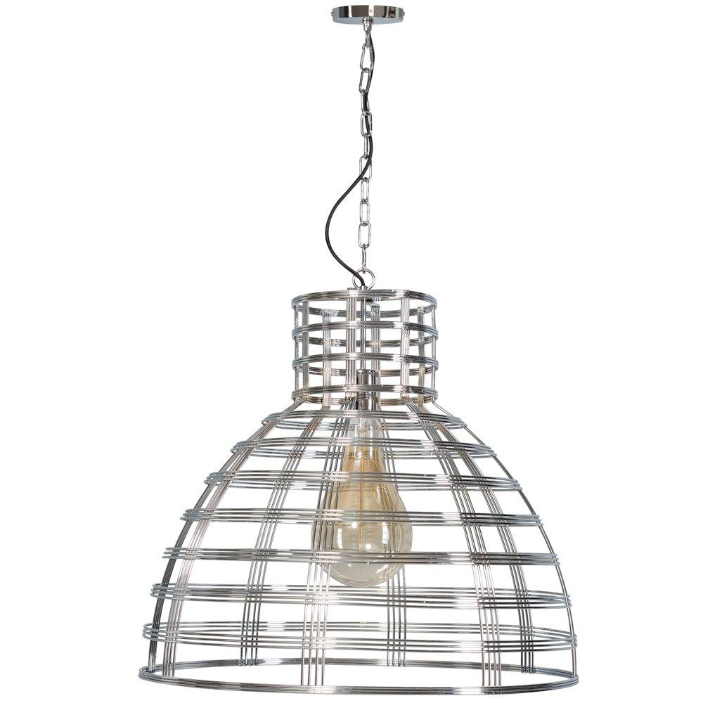 ETH Retro hanglamp Molfetta chroom Eth. 05-HL4422-11